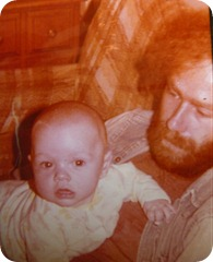 me and my pops, the early years