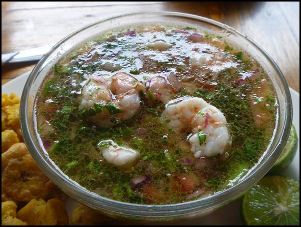 4 dollars for a huge bowl of fresh shrimp?  I'll take it!