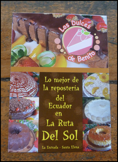 Find this bakery in La Entrada or Santa Elena.
