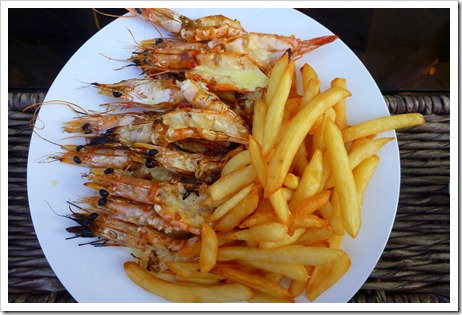 shrimp and fries
