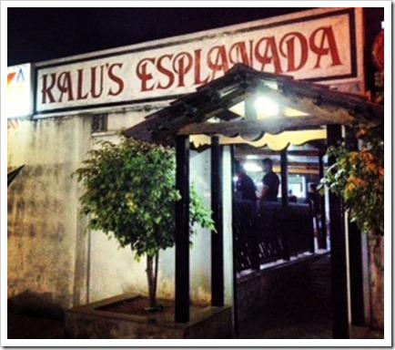 Kalu's entrance