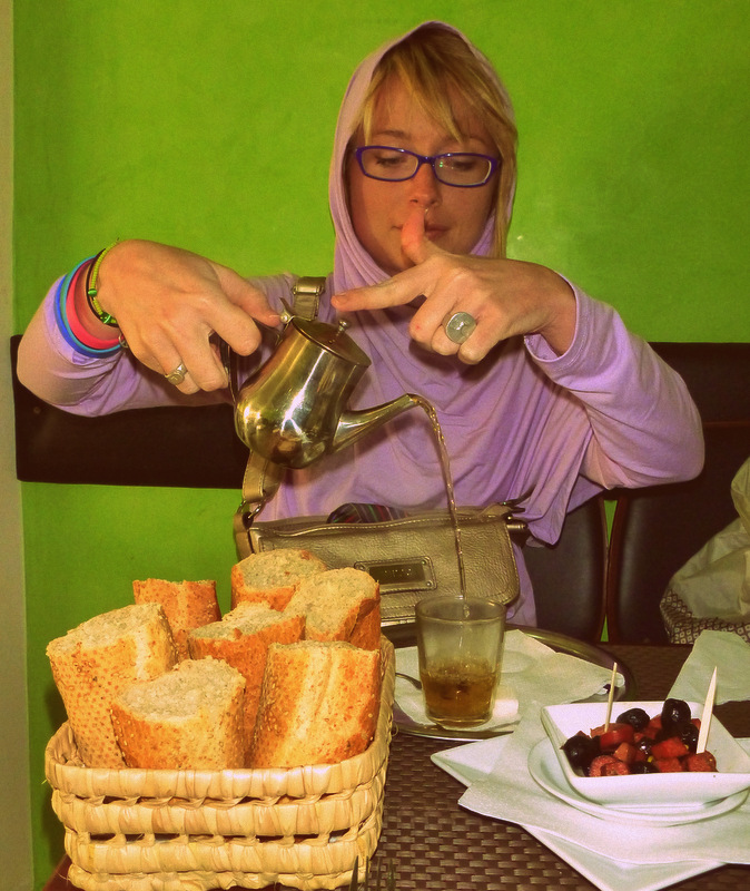 Casablanca teatime