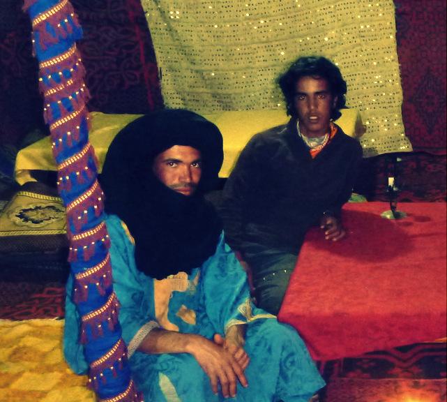 Berber nomads, Merzouga, Morocco