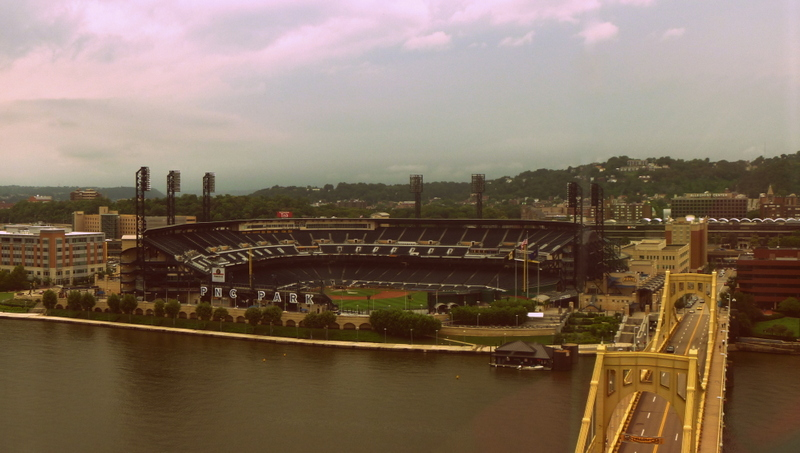 View from Renaissance Pittsburgh Hotel
