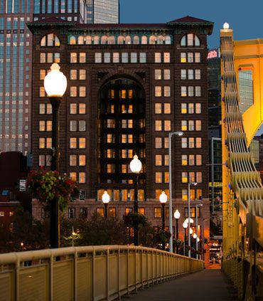 Renaissance Pittsburgh Hotel, pic from Marriott website