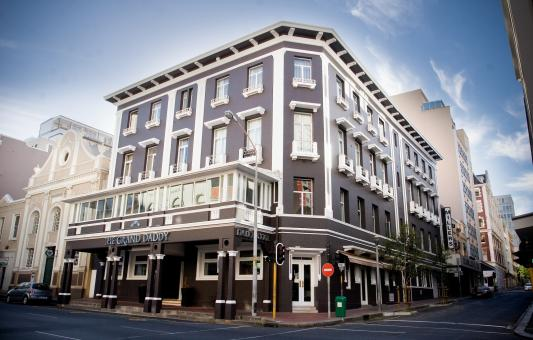 The Grand Daddy Hotel, Cape Town, pic borrowed from Grand Daddy's website