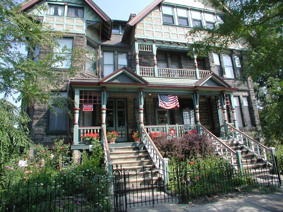 Stone Gables Bed and Breakfast, Cleveland, Ohio, photo borrowed from Trip Advisor