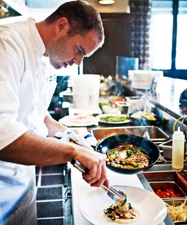 Chef Luca, 312 Chicago, photo borrowed from hauteliving.com