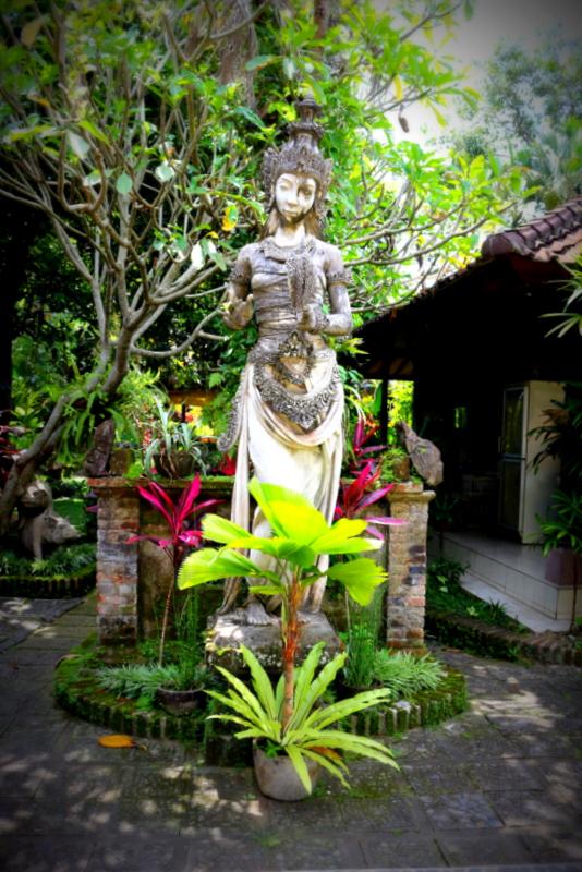 Garden Sculpture, Bali, Indonesia