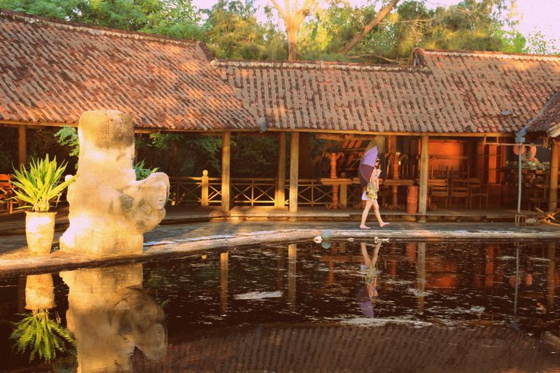 Spooky Abandoned Resort, Gili Meno, Indonesia