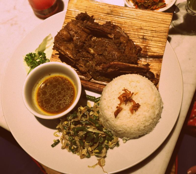 Bebek Tepi Sawah Restaurant, Ubud, Bali