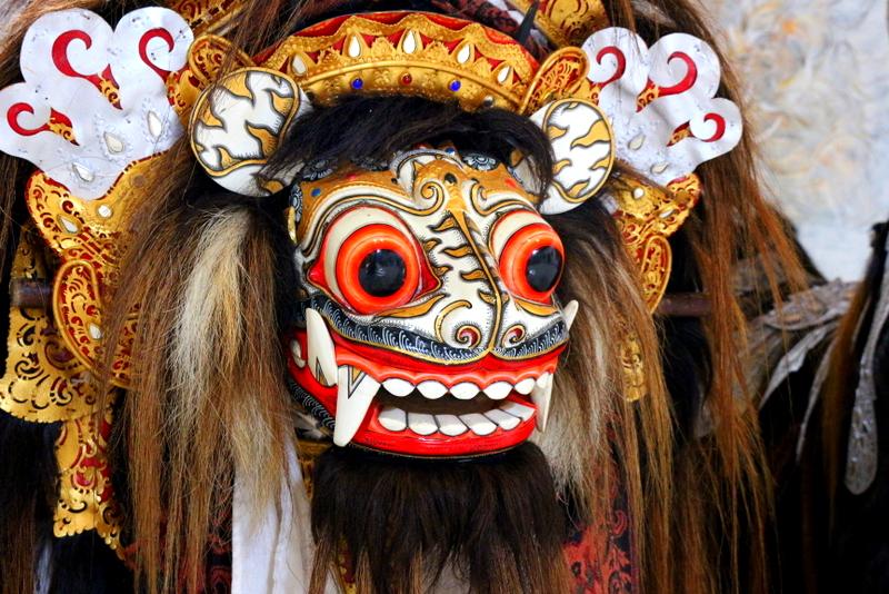 Topeng Dance Mask, Bali, Indonesia