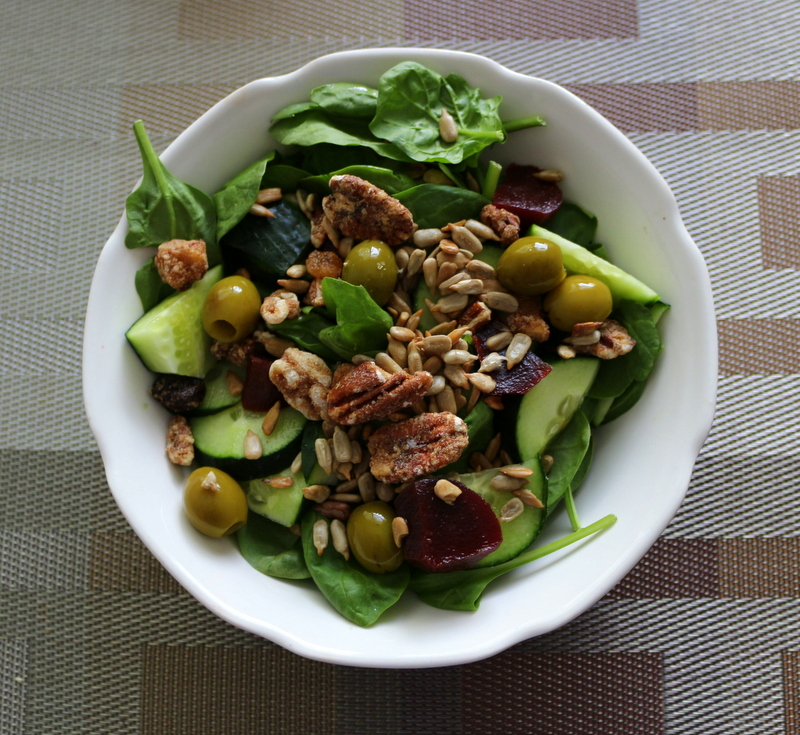 Salad with Valdosta Pecans