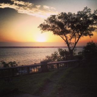 Maputo sunset