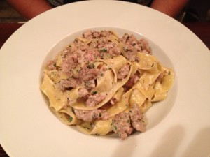 Pappardelle with Wild Tuscan Boar from Guze Restaurant Review | Malta Restaurant TripAdvisor Recommendation