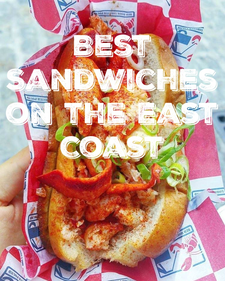 SIx Best Sandwhiches on the East Coast Red Hook Connecticut Lobster Roll in NYC Reviewed