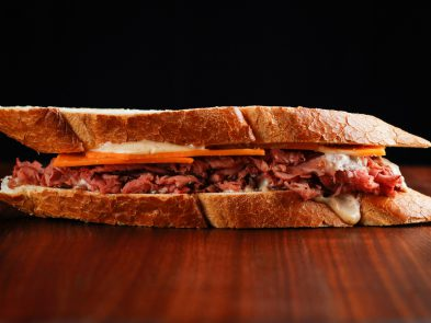 SIx Best Sandwhiches on the East Coast | Roast Beef, Cheedar and House Sauce from Williamsburg Cheese Shop