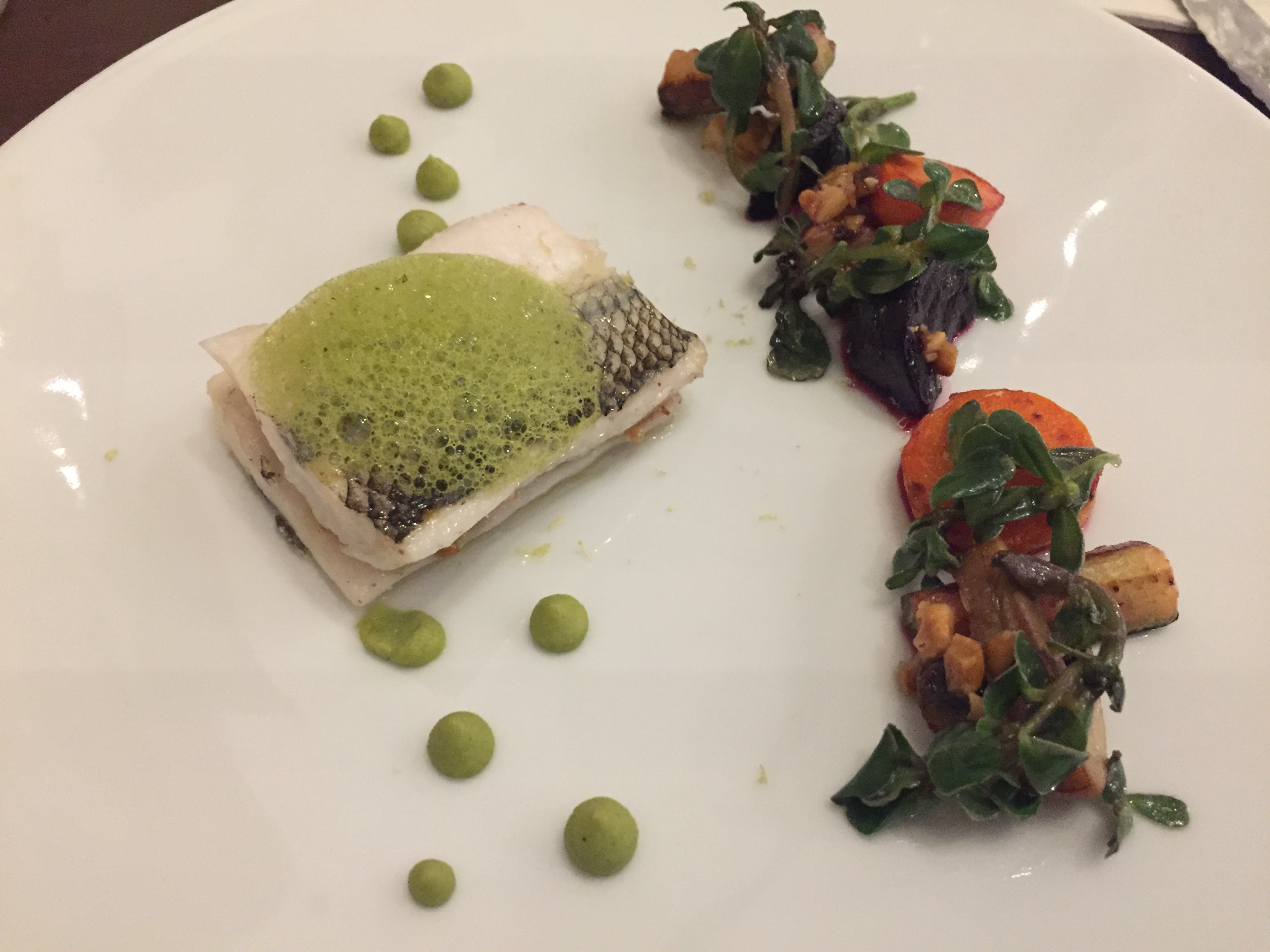 Pejerrey Fish | Haute Cuisine in La Paz, Bolivia at Ona Restaurant in Atix Hotel