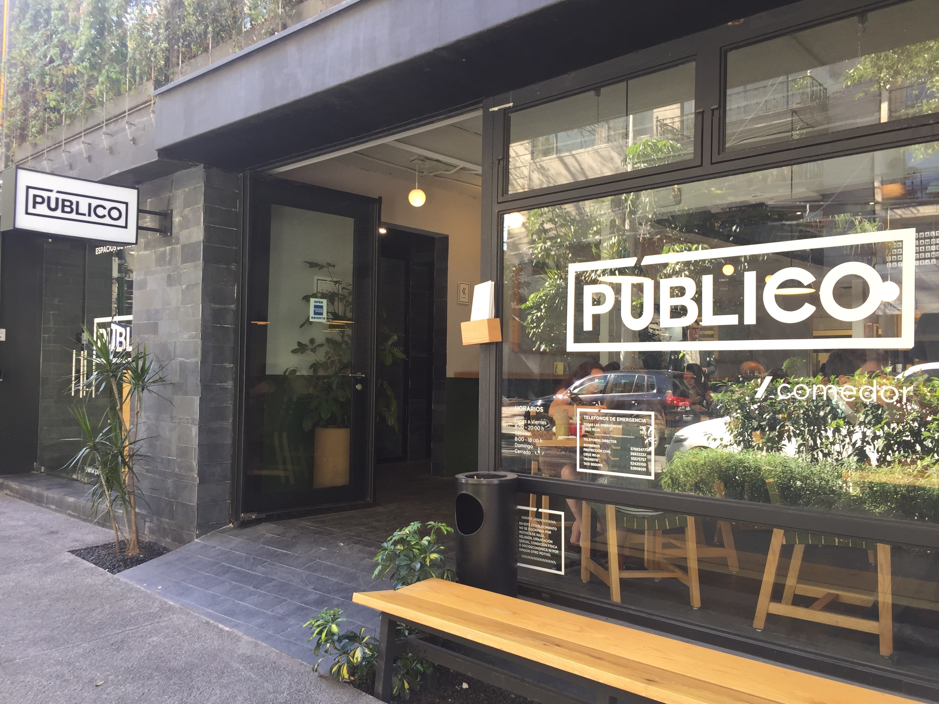 Best Restaurants in Mexico City - Listed by Neighborhood | Publico in Polanco and Condesa