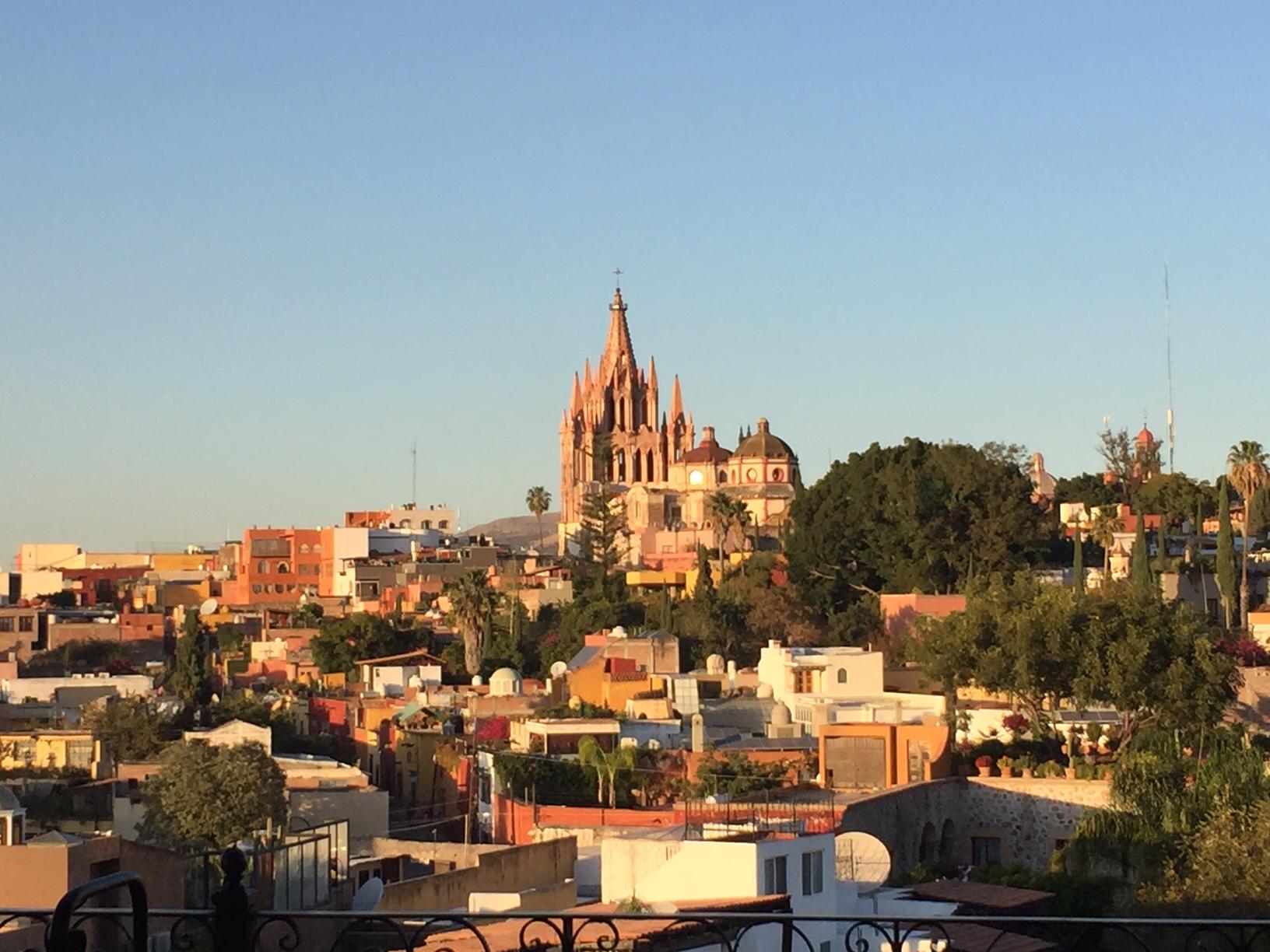 San Miguel de Allende Vista from Rosewood Hotel