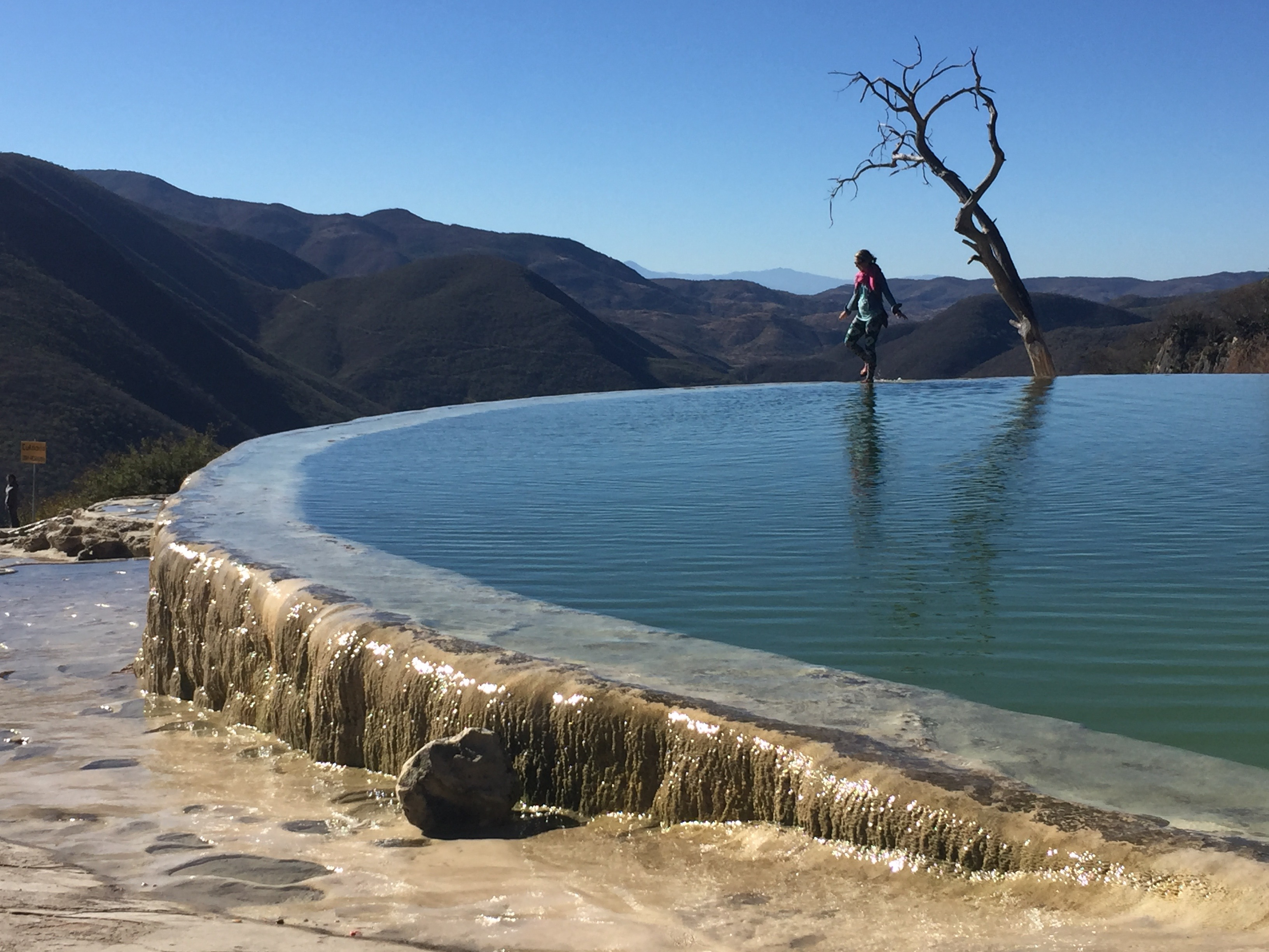 Visit Hierve el Agua and Tips For Where to Eat in Oaxaca