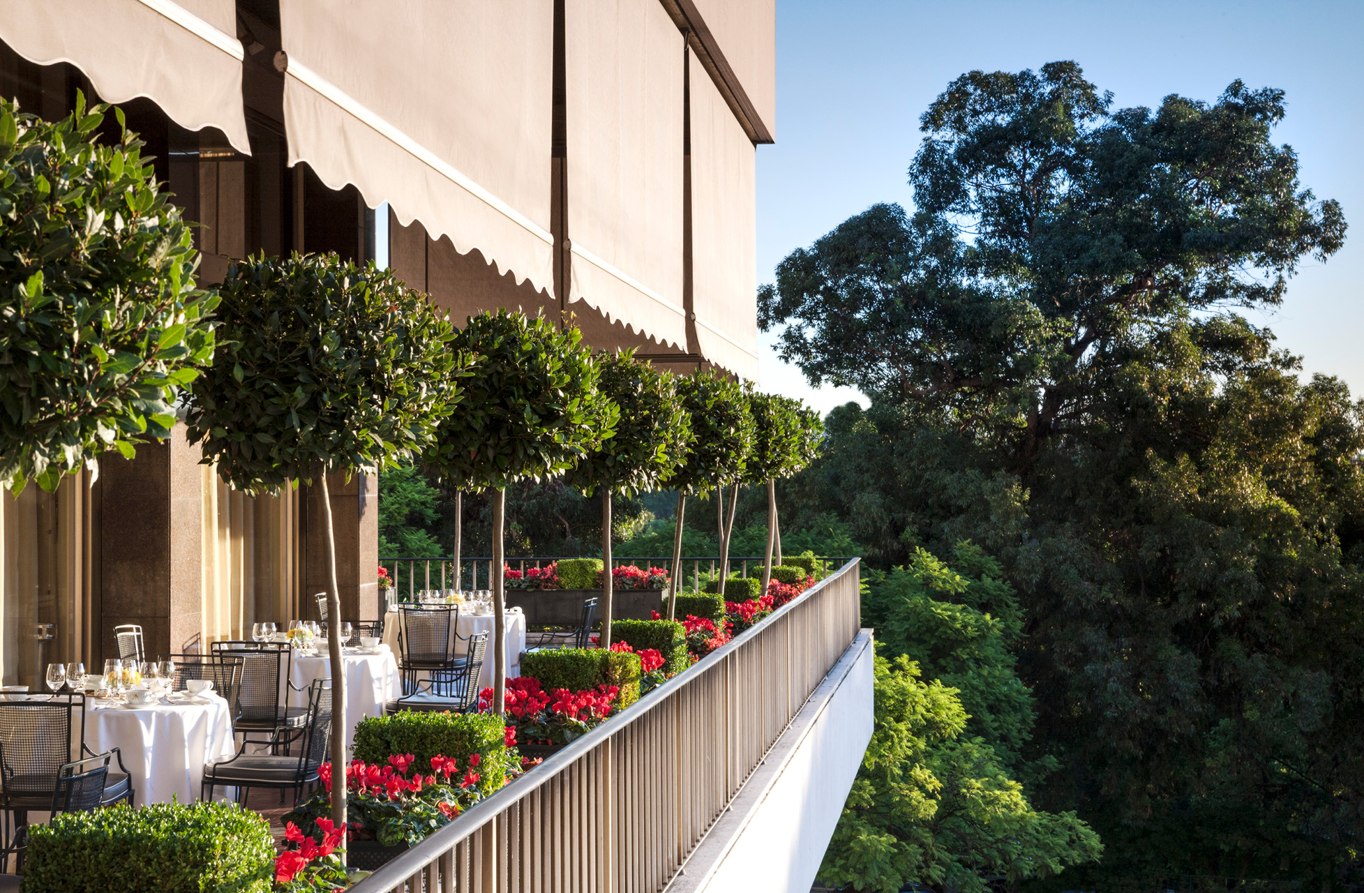 Five Luxury Stays in Lisbon - Four Seasons Lisbon Outdoor Terrace
