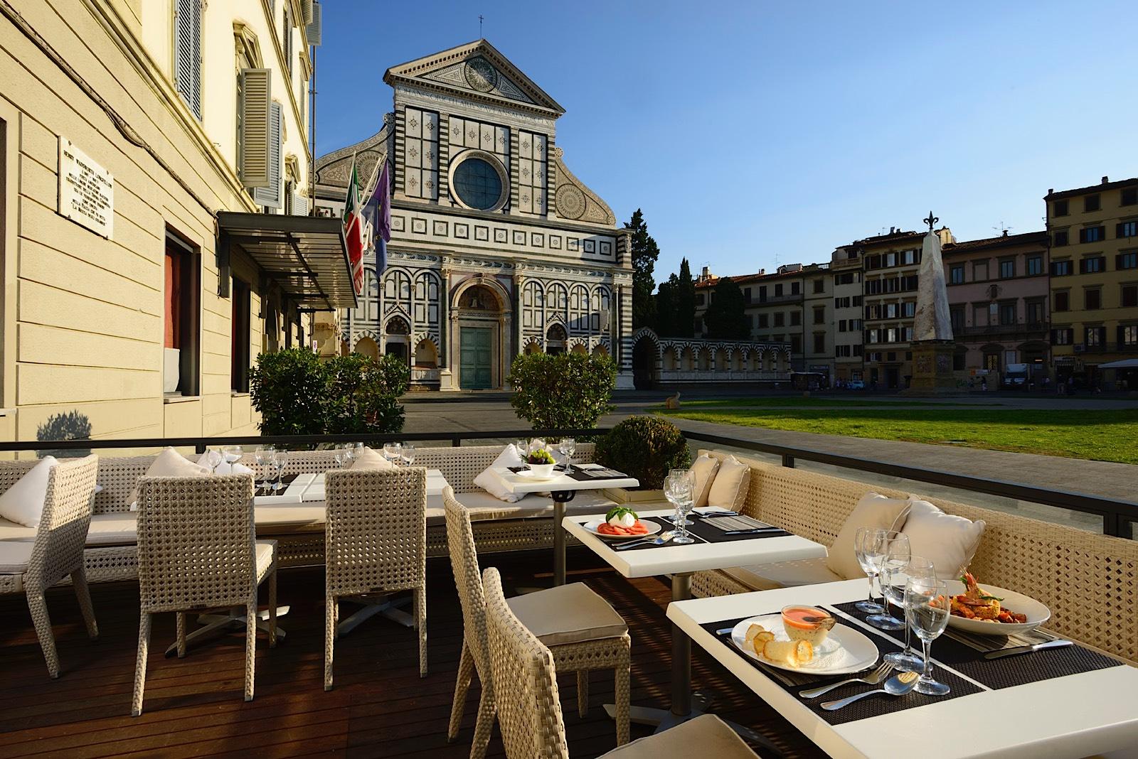 Best Florence Restaurant - La Buona Novella in Grand Hotel Minerva