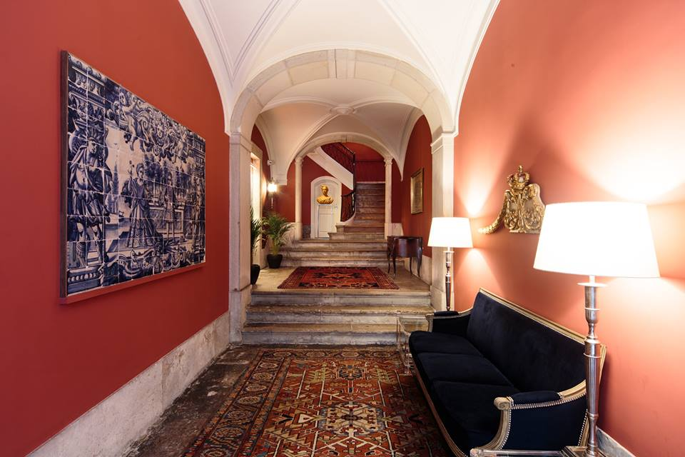 Five Stays Luxury Stays in Lisbon - Dear Lisbon Palace in Chicado