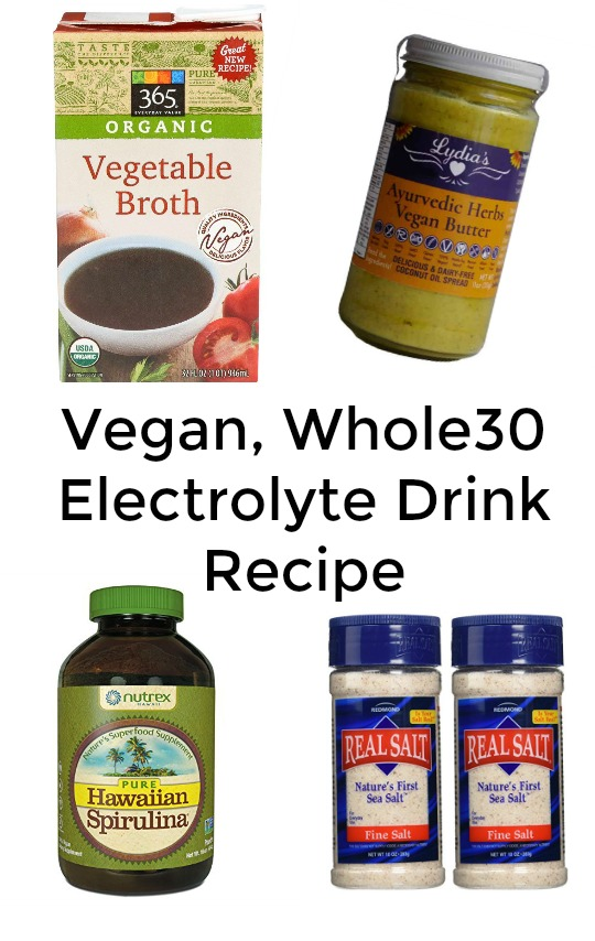 Vegan, Whole30 Cold and Flu Tips & Vegan, Whole30 Electrolyte Drink Recipe